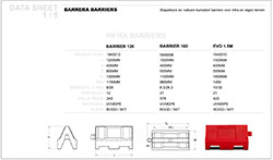 data sheet barrier
